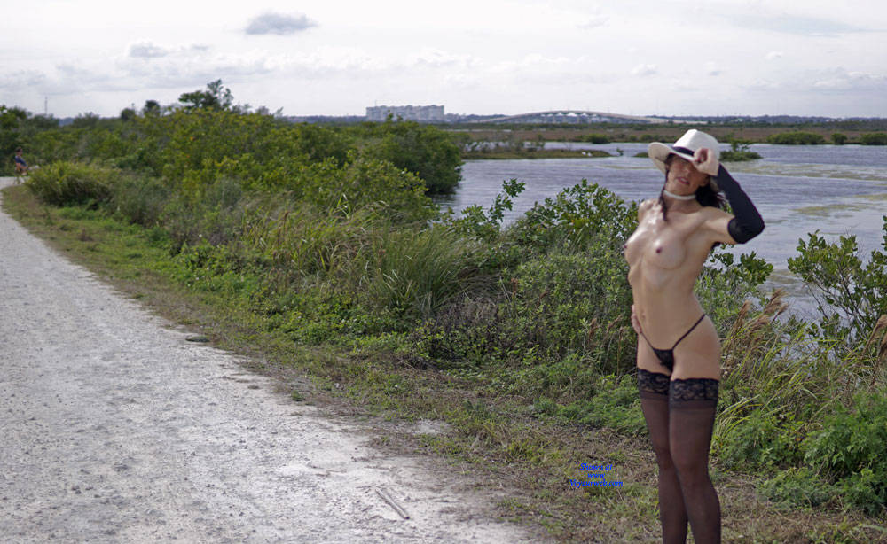 Pic #1 Missy At The Refuge - Nude Girls, Lingerie, Outdoors, Amateur, Wives In Lingerie, Firm Ass