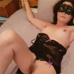 Tie Me Up And Play With Me! - Blowjob, Cumshot, Lingerie, Toys, Bush Or Hairy, Amateur