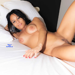 Naked And Relax - Bed, Big Tits, Brunette Hair, Full Nude, Indoors, Naked In Bed, Nipples, Shaved Pussy, Sexy Body, Sexy Boobs, Sexy Face, Sexy Girl, Sexy Legs