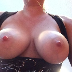 Very large tits of my wife - Mrs Mn