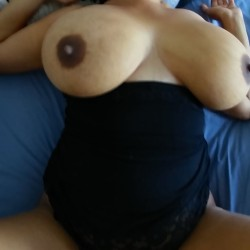 Very large tits of my wife - DCWife
