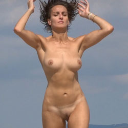 Nice Shape At The Beach - Big Tits, Brunette Hair, Firm Tits, Naked Outdoors, Nipples, Nude Beach, Nude In Nature, Nude In Public, Nude Outdoors, Shaved Pussy, Beach Pussy, Beach Tits, Beach Voyeur, Naked Girl, Sexy Body, Sexy Boobs, Sexy Face, Sexy Girl, Sexy Legs