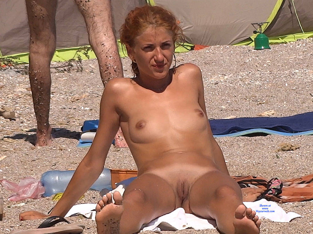 Red Haired Again , Redhead, Nude, Beach, Small Tits,