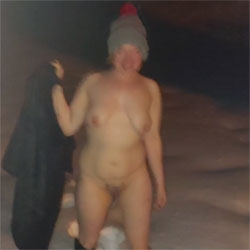 Topless In The Winter 2 - Nude Girls, Big Tits, Outdoors, Amateur