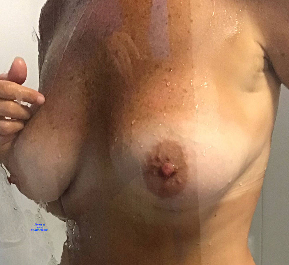 Pic #3 Shower Time - Big Tits, Mature, Amateur, Wet Tits