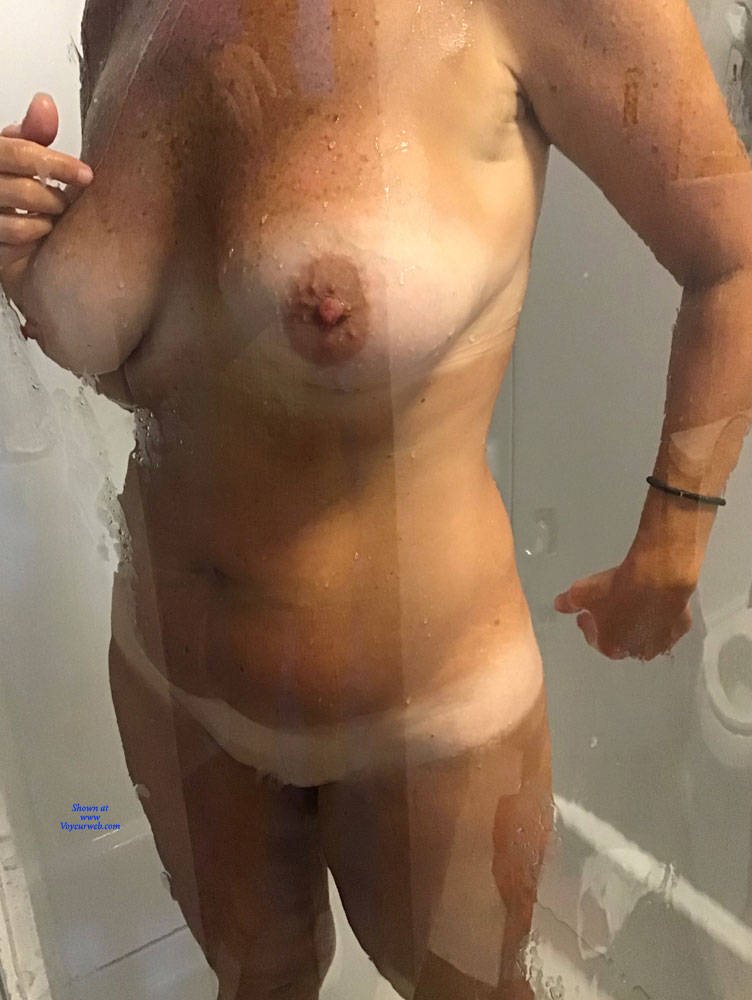 Pic #4 Shower Time - Big Tits, Mature, Amateur, Wet Tits