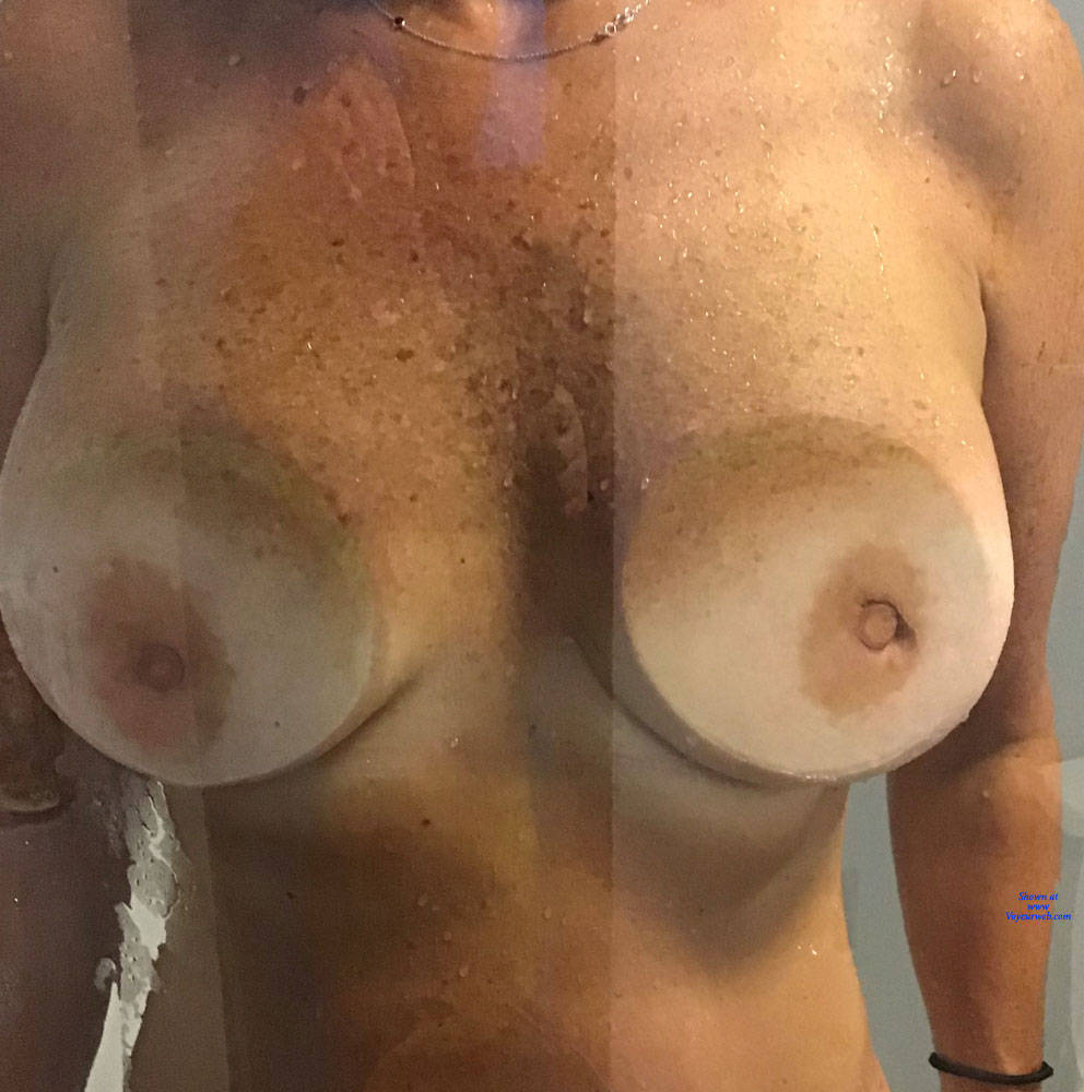 Pic #5 Shower Time - Big Tits, Mature, Amateur, Wet Tits