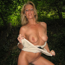 Mrs - Pantieless Wives, Big Tits, Blonde, Mature, Outdoors, Amateur