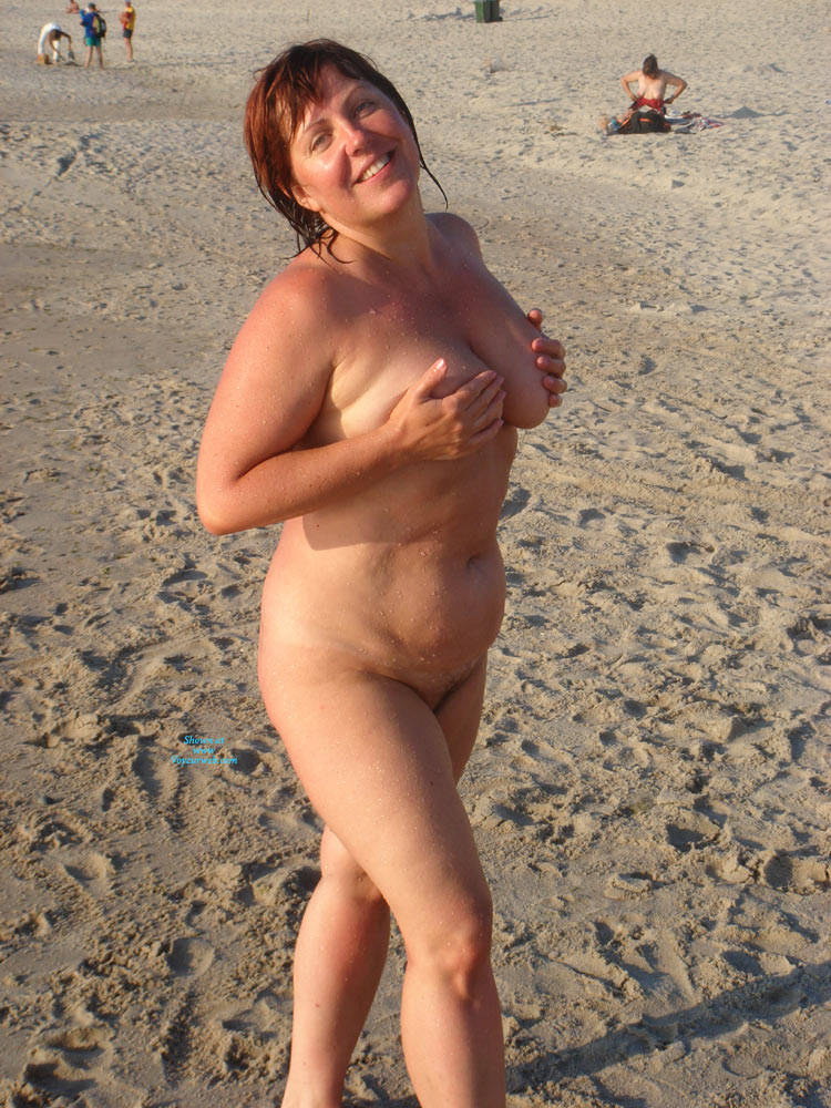 Mature at nude beach