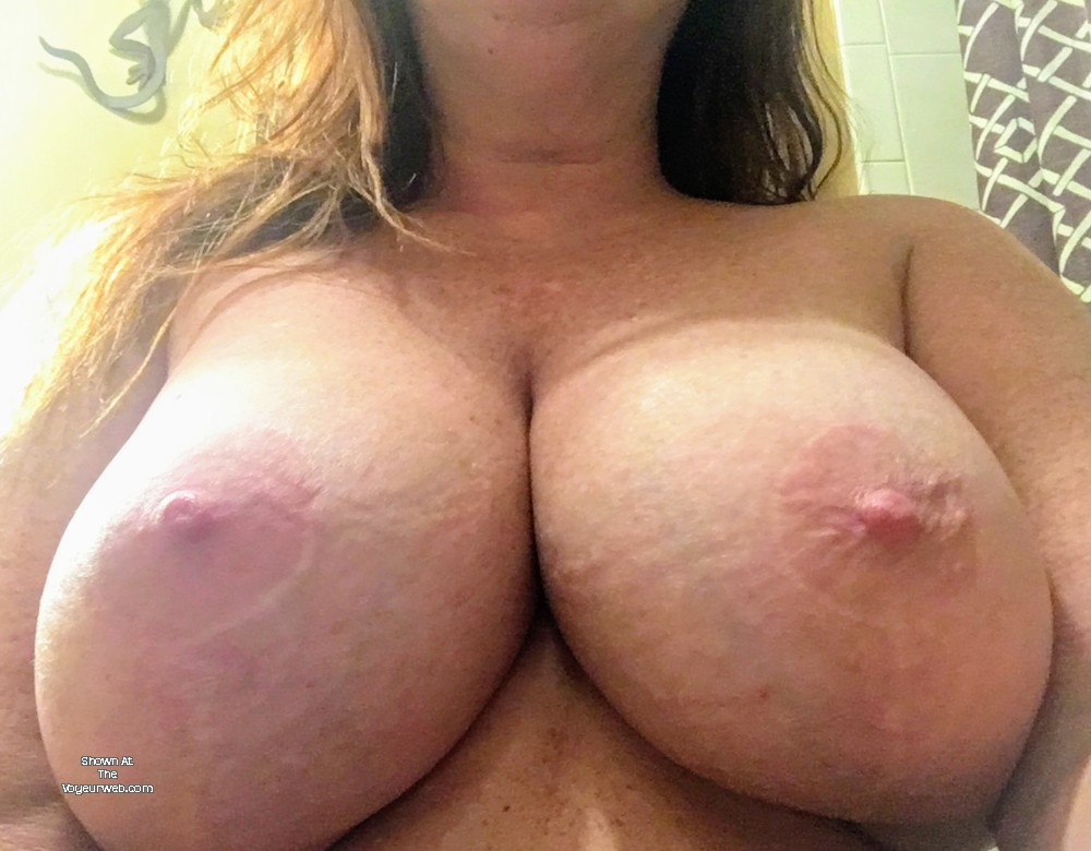Large Tits Of My Wife - Red4U - February, 2019 - Voyeur Web-5318