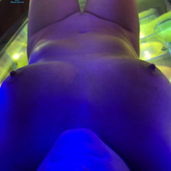In The Tanning Bed - Nude Wives, Big Tits, Mature, Amateur
