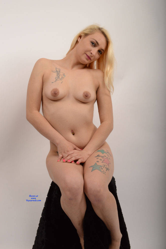 Pic #7 Rissa 3 - Nude Girls, Big Tits, Blonde, Shaved, Amateur, Tattoos