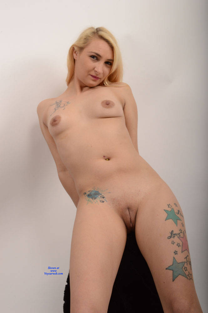 Pic #10 Rissa 3 - Nude Girls, Big Tits, Blonde, Shaved, Amateur, Tattoos