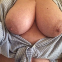 Very large tits of my wife - Lydia