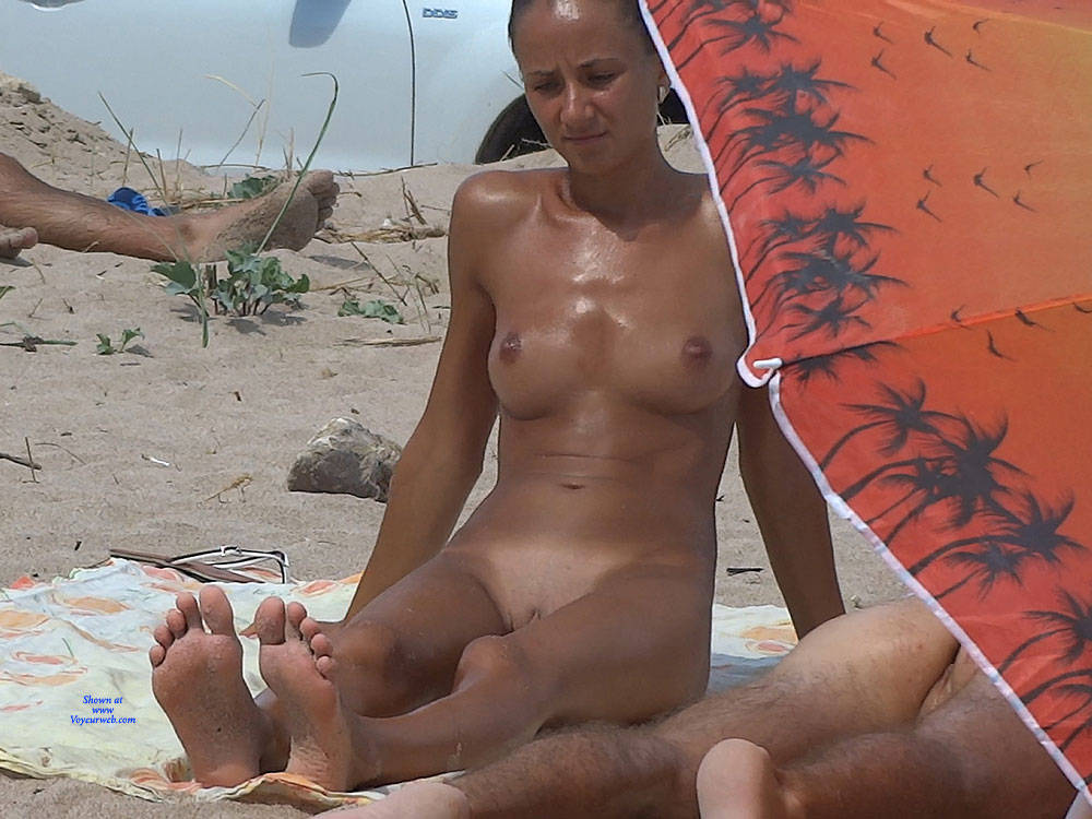 Massage , Beach, Nude, Small Tits, Shaved Pussy