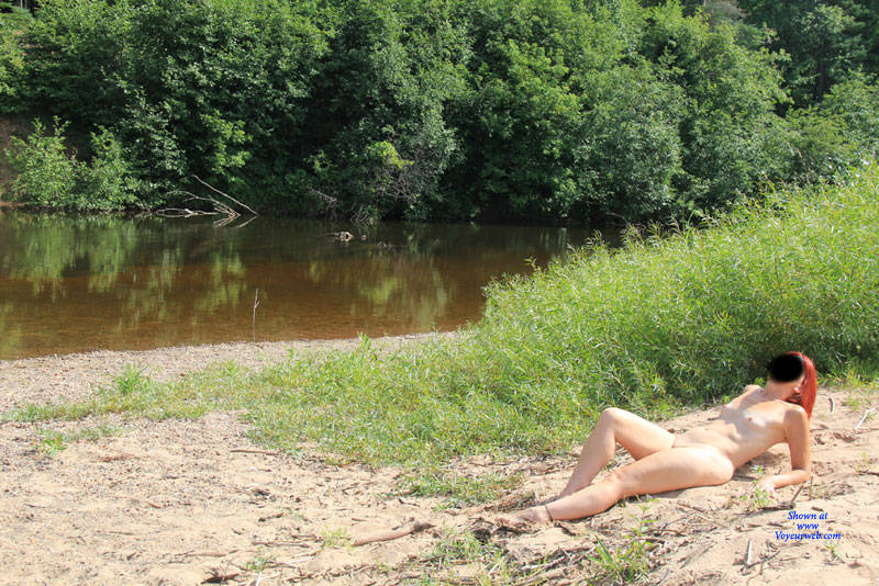 Pic #7 Gone Fishin' - Nude Girls, Mature, Outdoors, Redhead, Small Tits, Amateur
