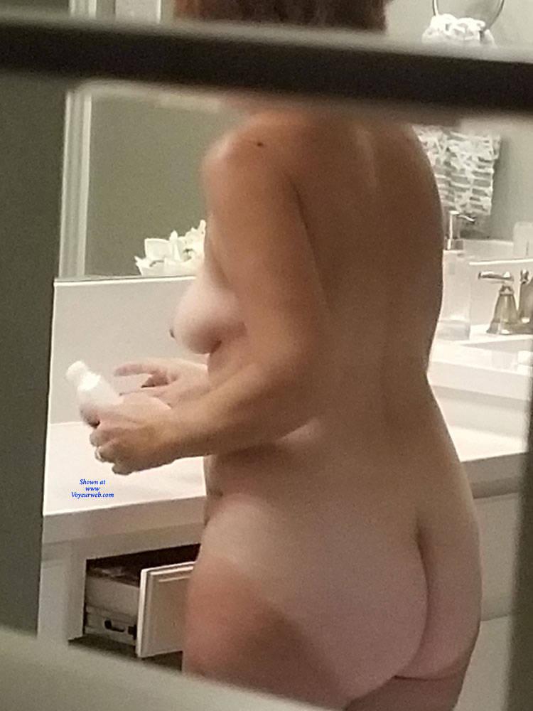 Pic #5 Through The Window - Nude Girls, Voyeur