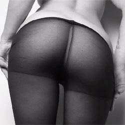 Nylon Booty Erotic Teasing - Lingerie, Amateur, Firm Ass