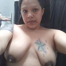 Sexy BBW Wife Tits - Nude Wives, Big Tits, Brunette, Amateur, Tattoos, Bbw, Latina