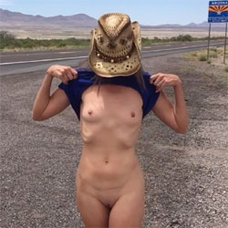Nirvana AZ - Nude Girls, Public Exhibitionist, Flashing, Outdoors, Small Tits, Shaved, Amateur