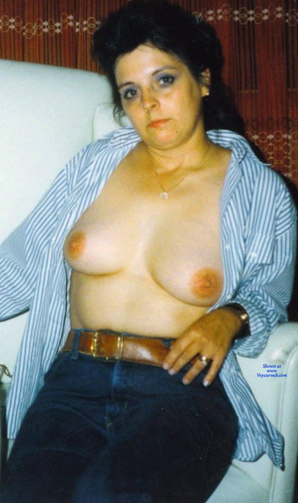 Pic #2 Vintage Sexy MILF 2 - Big Tits, Brunette, Amateur
