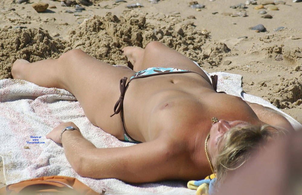 Pic #4 On The French Coast - Topless Girls, Beach, Big Tits, Outdoors, Beach Voyeur