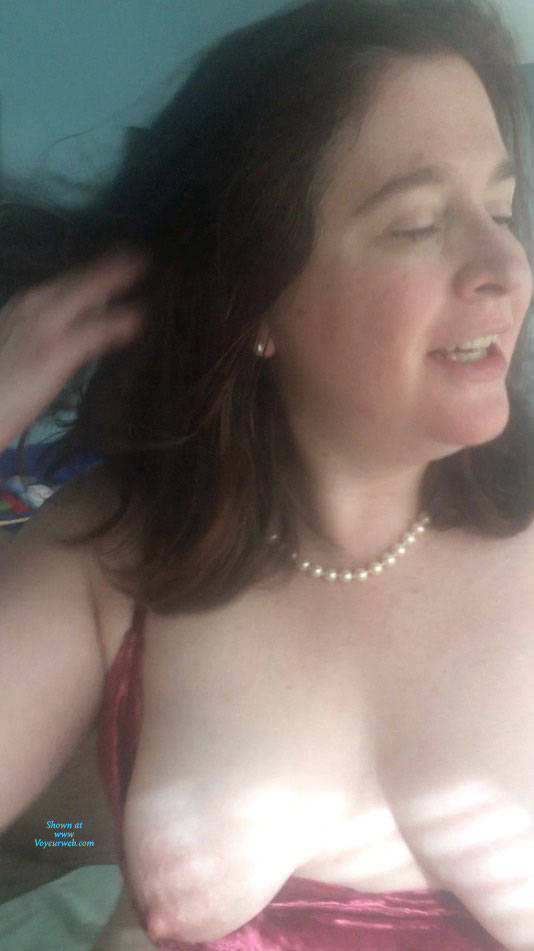 Pic #3 Asked To Take My Tits Out - Big Tits, Brunette, Mature, Amateur
