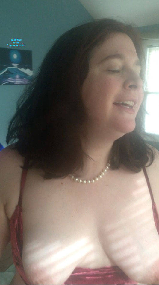 Pic #4 Asked To Take My Tits Out - Big Tits, Brunette, Mature, Amateur