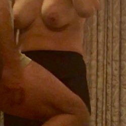 Large tits of my wife - Roxana