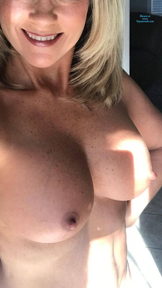 Pic #2 Testing My Comfort Zone - Big Tits, Mature, Amateur