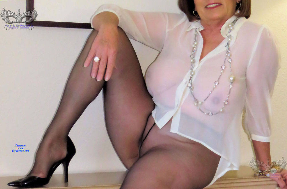 Pic #3 Mmmm Don't you Love Sheer - Mature, See Through, Wife/wives, Amateur, Women In See Through Clothes