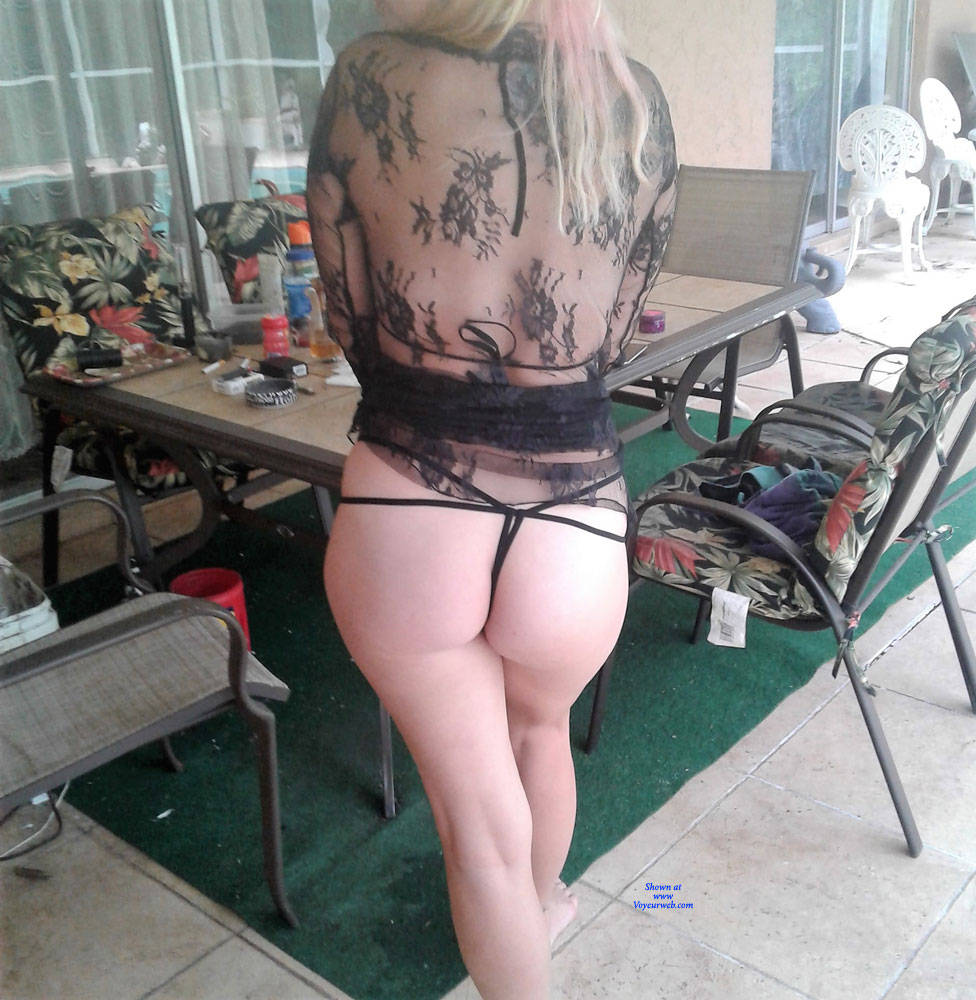 Pic #5 First Time - Lingerie, See Through, Amateur, Outdoors