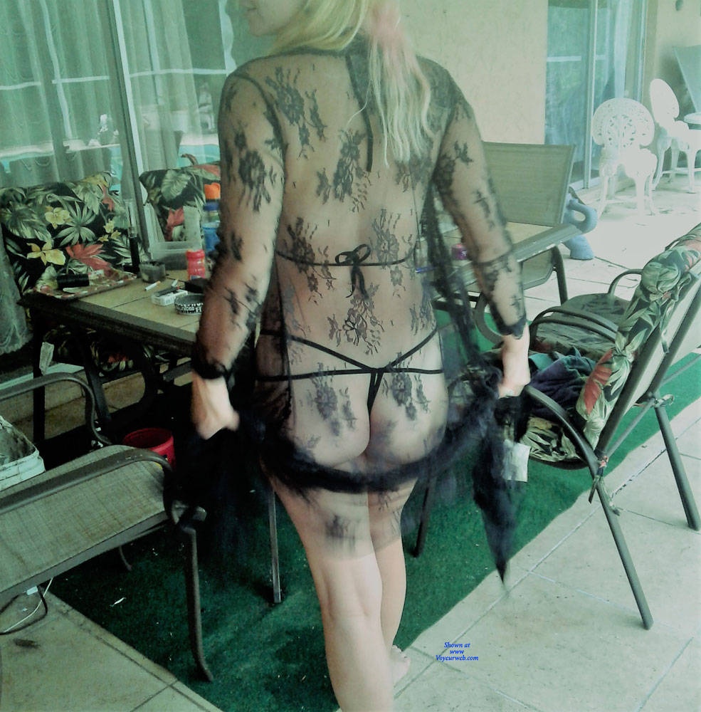 Pic #1 First Time - Lingerie, See Through, Amateur, Outdoors