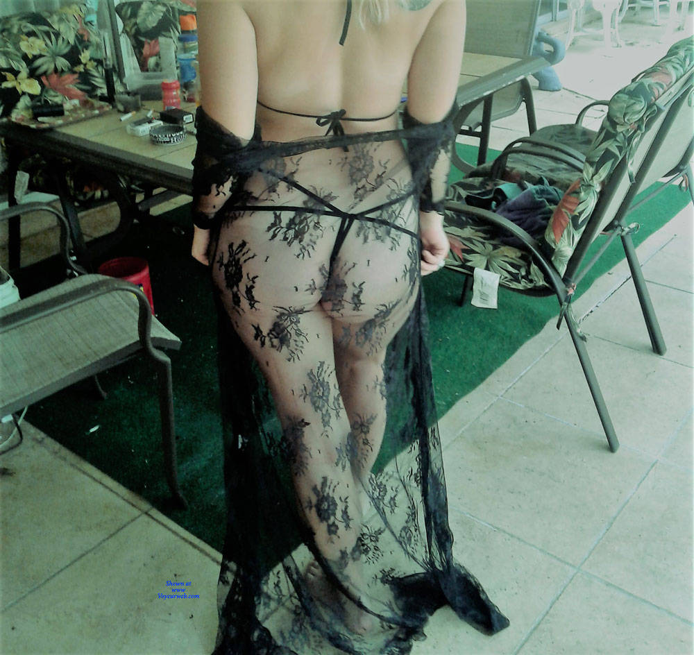 Pic #2 First Time - Lingerie, See Through, Amateur, Outdoors