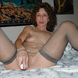Nude girls taking own pics
