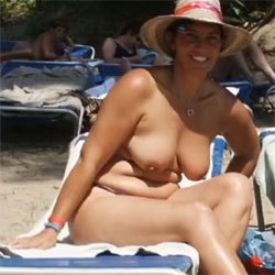 Lani In Ibiza - Topless Girls, Beach, Big Tits, Outdoors, Amateur