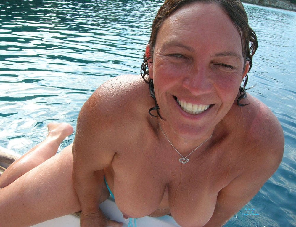 Pic #9 Lani Topless Outdoors - Topless Girls, Big Tits, Mature, Outdoors, Amateur