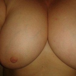 Extremely large tits of a co-worker - antonella