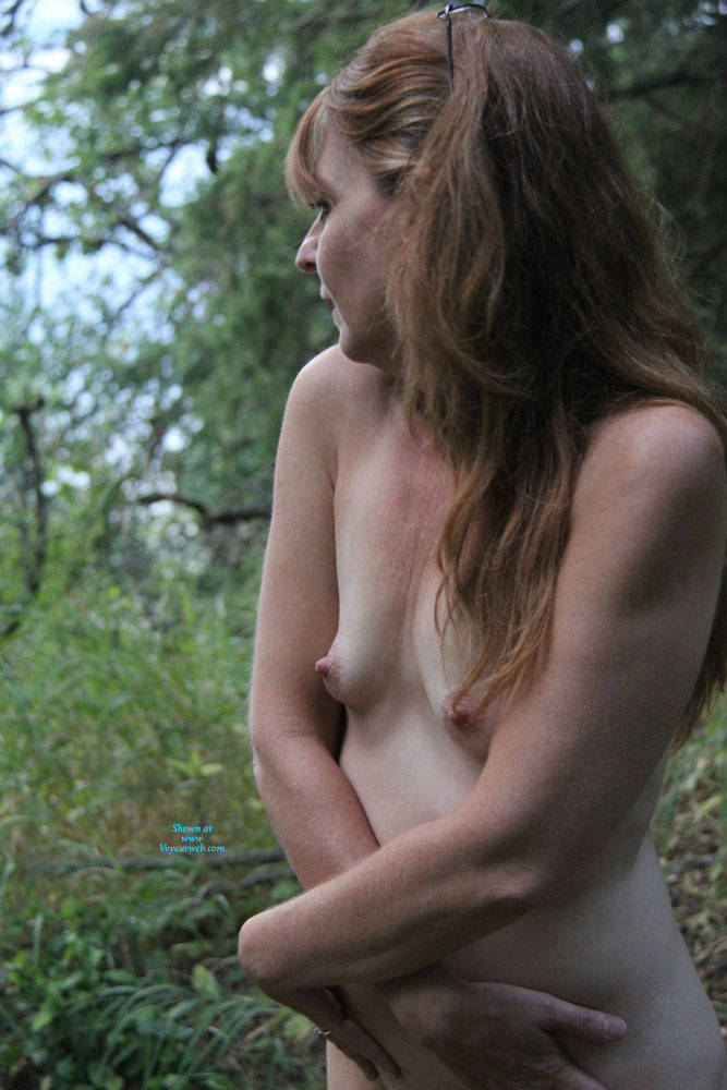 Pic #2 Just My Titties - Mature, Outdoors, Small Tits, Amateur, Natural Tits