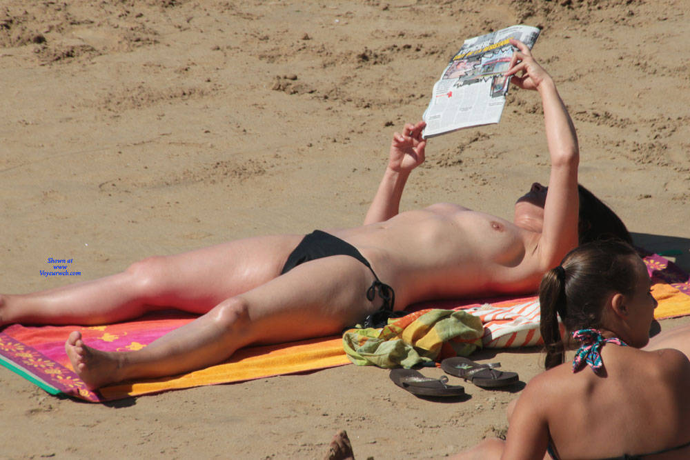 Pic #2 On The Beach Again - Topless Girls, Beach, Outdoors, Beach Voyeur