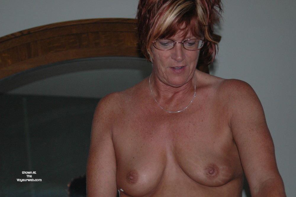 Pic #1 Small tits of my wife - The Mrs