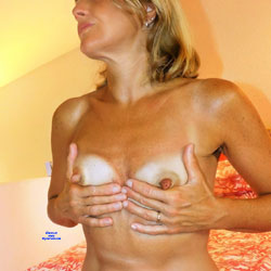 Black Cat On Hot Red Bed 2 - Nude Girls, Lingerie, Amateur