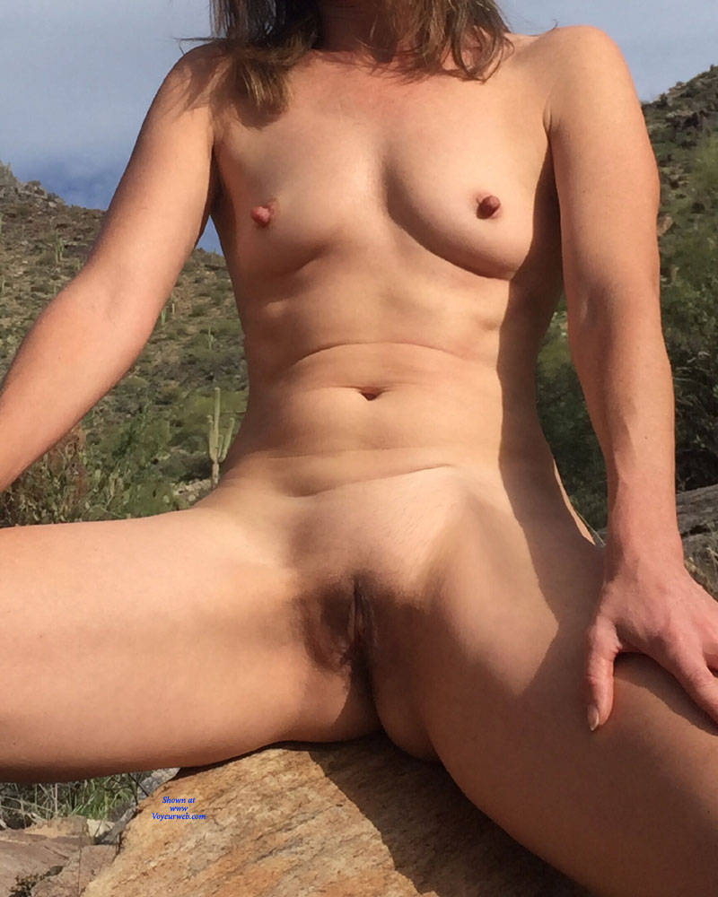 Pic #8 Nirvana Saguaro  - Nude Girls, Public Exhibitionist, Flashing, Outdoors, Small Tits, Shaved, Amateur