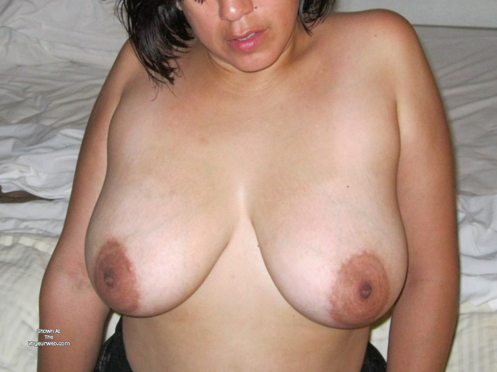 Pic #1 Large tits of my wife - Cherry
