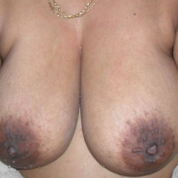 Large tits of my wife - Andria