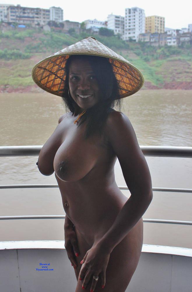 Big breast in tight clothes