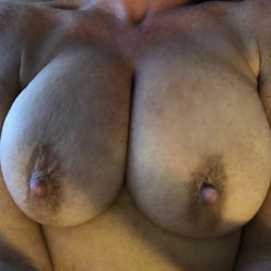 Large tits of my wife - Simple wife