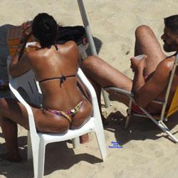 Janga Beach - Beach, Brunette, Outdoors, Bikini Voyeur