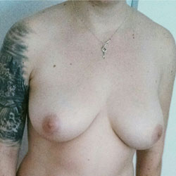 Mary's Natural 36D's - Big Tits, Amateur, Tattoos