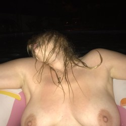Medium tits of my wife - Natali